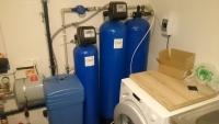 Geležies bei mangano šalinimo filtras Clack. Vandens minkštinimo bei organikos šalinimo filtras Clack