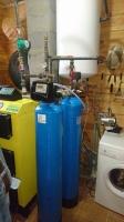 Geležies šalininimo filtras Clack su laikmačiu, bei oro kompresoriumi